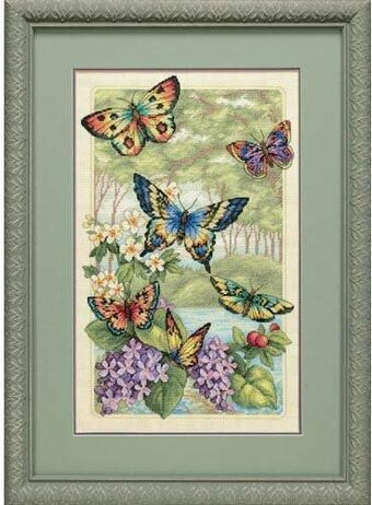 Dimensions Cross Stitch Kit Ornate Butterfly