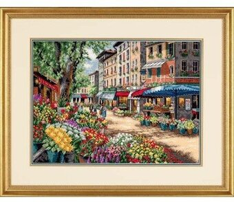 Paris Market - Cross Stitch Kit