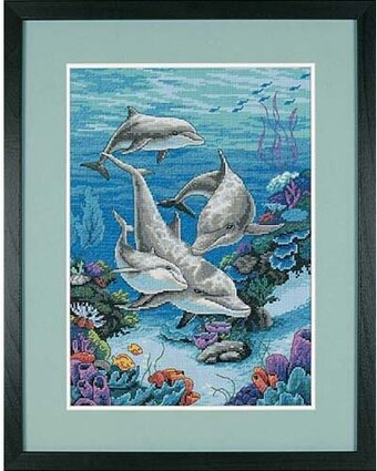 Dolphins' Domain - Cross Stitch Kit