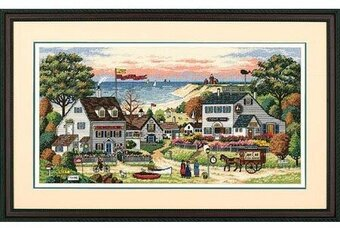 Cozy Cove - Cross Stitch Kit