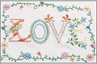 Love - Embroidery Kit