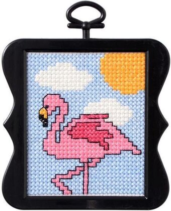 Flamingo - Beginner Cross Stitch Kit