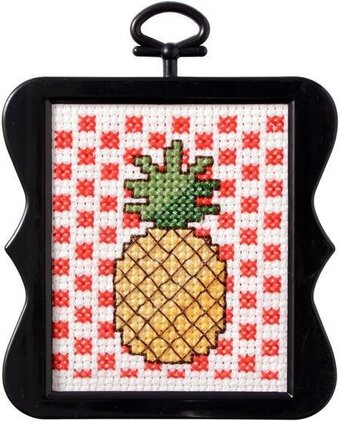 Pineapple - Beginner Cross Stitch Kit