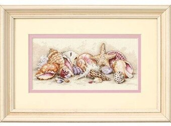 Seashell Treasures - Cross Stitch Kit