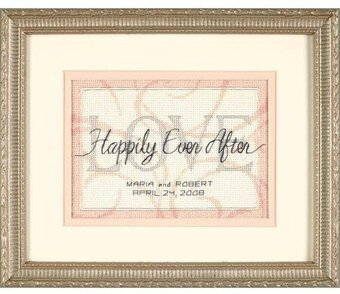 Hily Ever After Wedding Record Cross Sch Kit