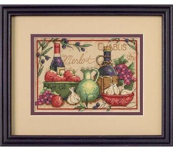 Mediterranean Flavors - Cross Stitch Kit