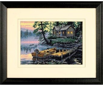 Morning Lake - Cross Stitch Kit