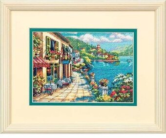 Overlook Cafe - Cross Stitch Kit