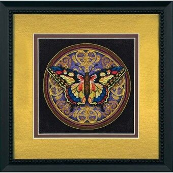 Ornate Butterfly - Cross Stitch Kit
