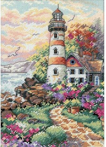 Dimensions Beacon At Daybreak Cross Stitch Kit 6883