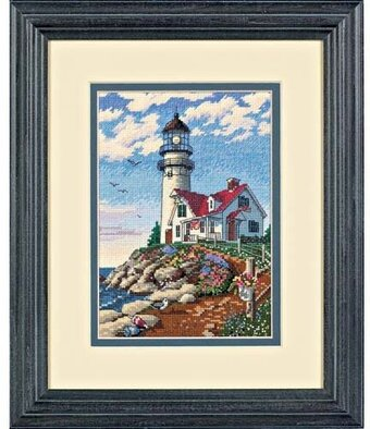 Dimensions Needlecrafts Counted Cross Stitch Rocky Point