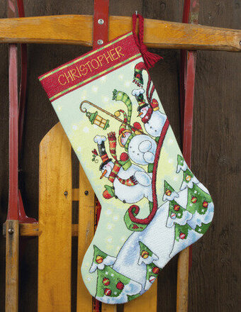 Cross Stitch Christmas Stockings Kits