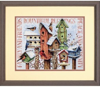 Winter Housing - Cross Stitch Kit