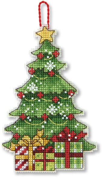 Tree Christmas Ornament - Cross Stitch Kit - Dimensions Tree Christmas Ornament - Cross Stitch Kit 70-08898