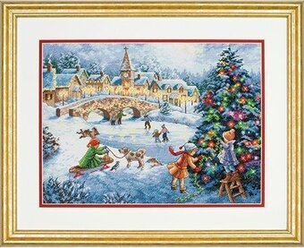 Winter Celebration - Christmas Cross Stitch Kit