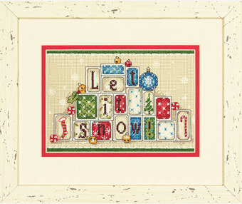 Let It Snow - Christmas Cross Stitch Kit