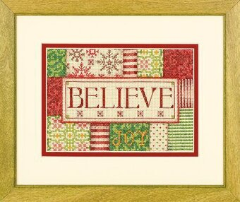 Believe - Christmas Cross Stitch Kit