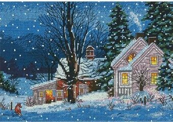 Quiet Night - Cross Stitch Kit