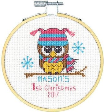 Baby's First Christmas - Cross Stitch Kit