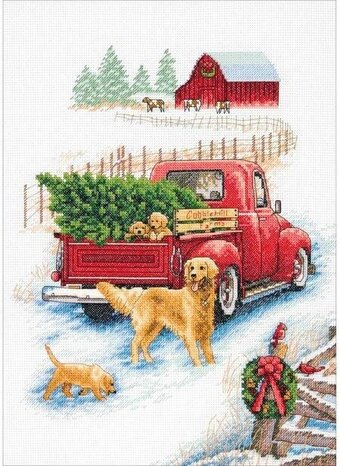 Winter Ride - Christmas Cross Stitch Kit