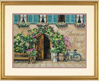 Sorrento Hotel - Cross Stitch Kit
