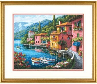 Lakeside Village - Cross Stitch Kit