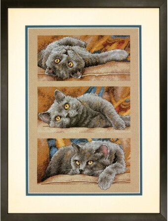 Max the Cat - Cross Stitch Kit