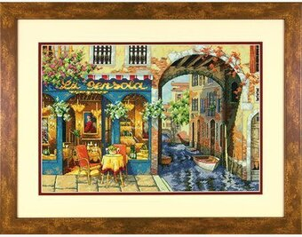 Charming Waterway - Cross Stitch Kit