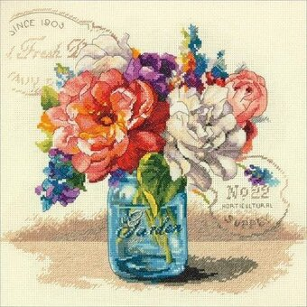 Garden Bouquet - Cross Stitch Kit