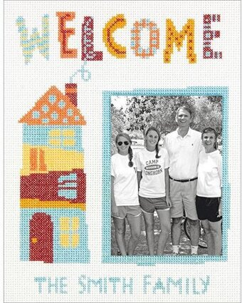Welcome Home - Cross Stitch Kit