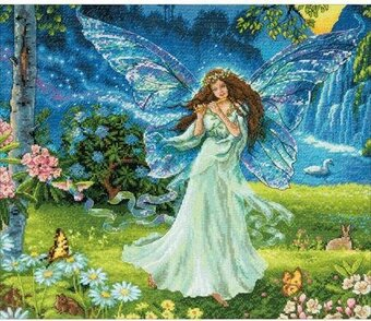 Spring Fairy - Gold Collection Cross Stitch Kit