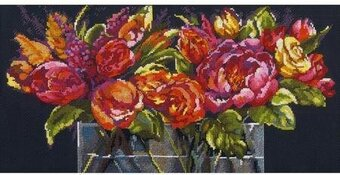 Flowers of Joy - Cross Stitch Kit