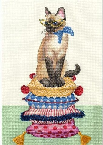 Cat Lady - Dimensions Cross Stitch Kit