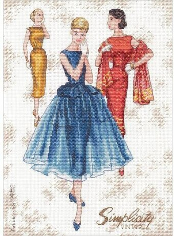 Simplicity Vintage - Cross Stitch Kit