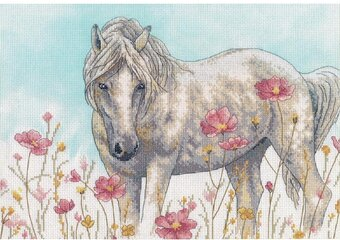 Wild Horse - Counted Cross Stitch Kit
