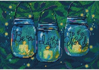Be A Light - Cross Stitch Kit