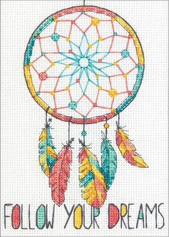 Dreamcatcher - Cross Stitch Kit