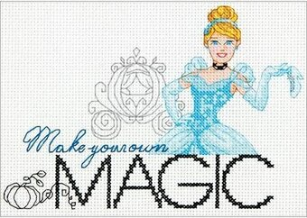 Make Your Own Magic Cinderella - Disney Cross Stitch Kit