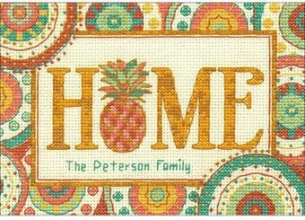 Pineapple Home - Cross Stitch Kit