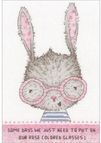 Rose Colored Glasses - Cross Stitch Kit