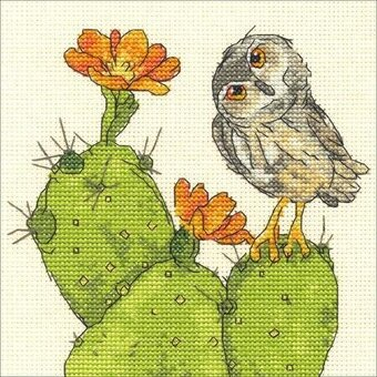Prickly Owl - Cross Stitch Kit