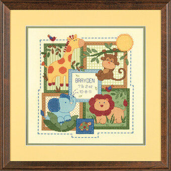 Savannah Birth Record - Cross Stitch Kit