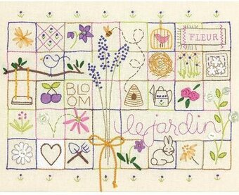 Le Jardin Sampler - Embroidery Kit