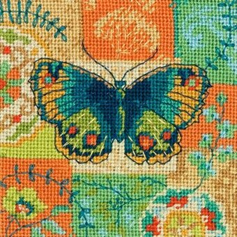 Butterfly Pattern - Needlepoint Kit