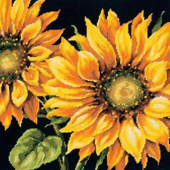 Dramatic Sunflower - Needlepoint Kit