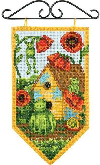 Debbie Mumm Summer Banner - Cross Stitch Kit