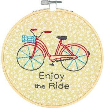 Bike Ride - Embroidery Kit