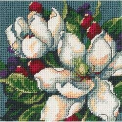 Magnolias - Mini Needlepoint Kit