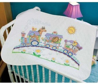 Dimensions Baby Express Quilt - Stamped Cross Stitch Kit 73427 ... : stamped cross stitch baby quilts - Adamdwight.com