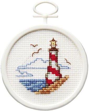 Janlynn Lighthouse Mini Cross Stitch Kit 998 5034